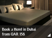 Book a Hotel in Dubai from QAR 158
