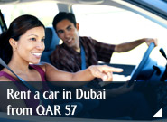 Rent a car in Dubai from QAR 57