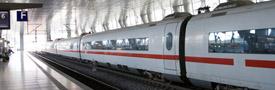 تذكرة ريل آند فلاي على خطوط شبكة السكك الحديدية الألمانية دويتشه بان