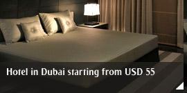Hotel in Dubai starting from USD 55
