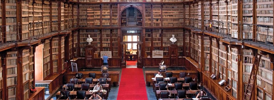 The Hidden Treasures In Italian Libraries Open Skies Article Emirates Singapore