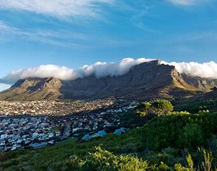 เที่ยวบินสู่เคปทาวน์ ประเทศแอฟริกาใต้