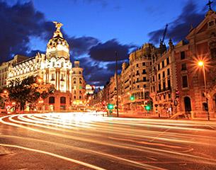 Vols vers Madrid, Espagne