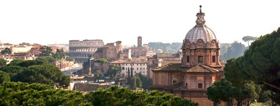 Vols à destination de Rome