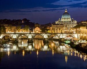 Vols vers Rome, Italie