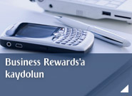 Business Rewards'a kaydolun