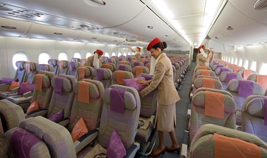 The Emirates A380 – a premium hotel in the sky