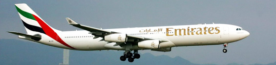 Emirates Airbus A340-300