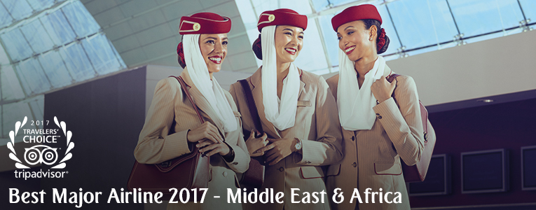 Thanks for making us most awarded airline in the 2017 TripAdvisor Travelers' Choice® awards