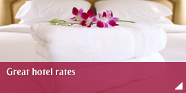 Great hotel rates