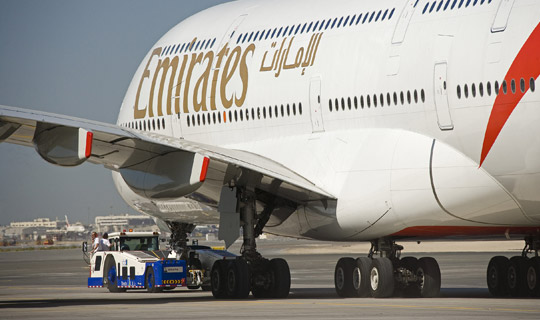 Emirates brings its own double-decker to London