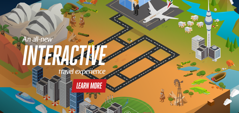 An all-new interactive experience; click for more information