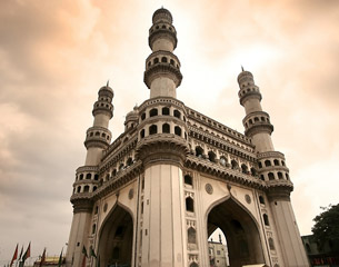 Flights to Hyderabad, India