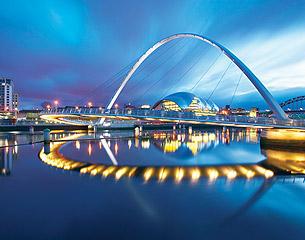 Flights to Newcastle, UK